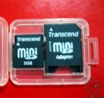 创见(Transcend)2GminiSD(赠适配器)